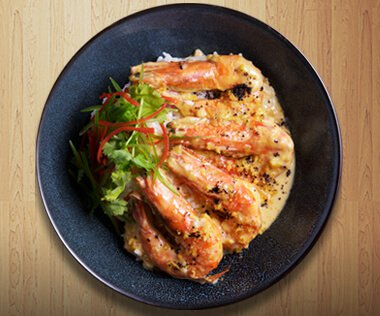 Salted Egg Prawns by Dimples Romana
