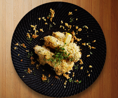 Parmesan Crusted Chicken Breast by Meg Imperial